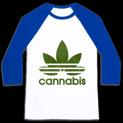 Cannabis Baseball Tee