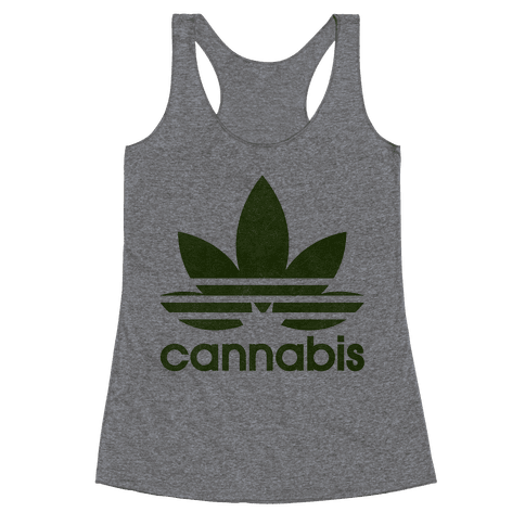 Cannabis Racerback Tank Top