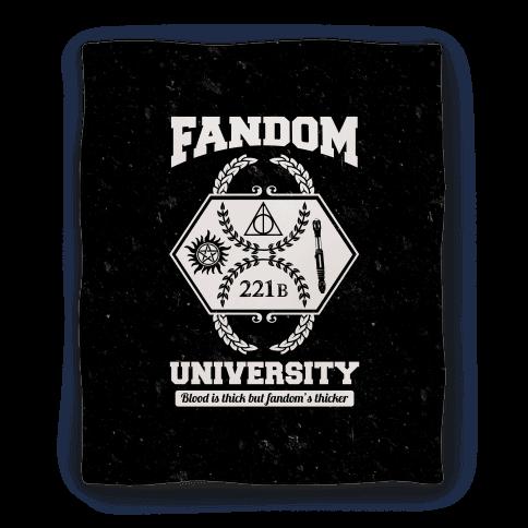 Fandom University Blanket