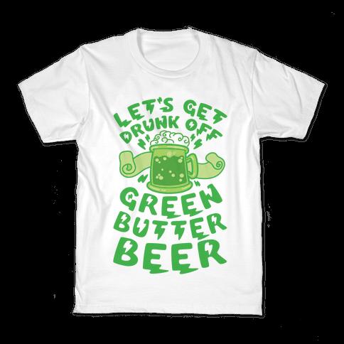 Green Butter Beer Kids T-Shirt
