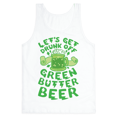 Green Butter Beer Tank Top