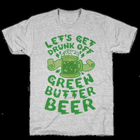 Green Butter Beer Mens T-Shirt