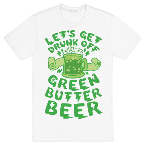 Green Butter Beer Mens T-Shirt