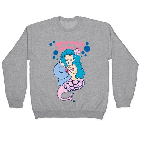 Mermaids Sleep In Pullover