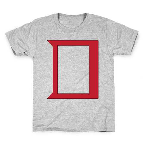 Daring Yellow Devil Logo Kids T-Shirt