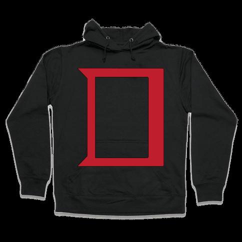 Daring Yellow Devil Logo Hooded Sweatshirt