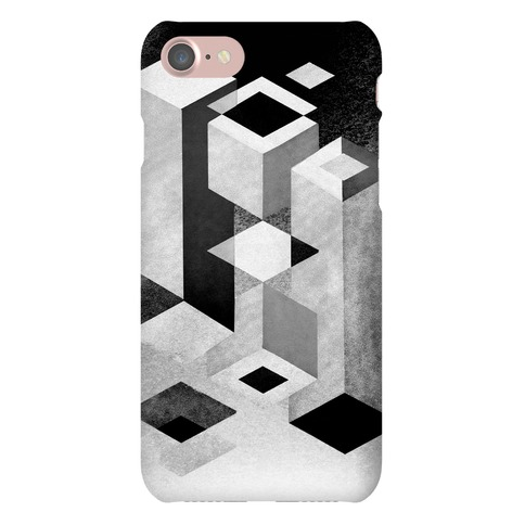 Geometry Optical Illusion Phone Case