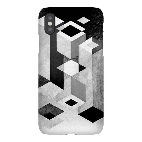 Geometry Optical Illusion Phone Case