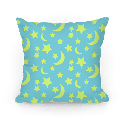 Moon And Stars Pattern