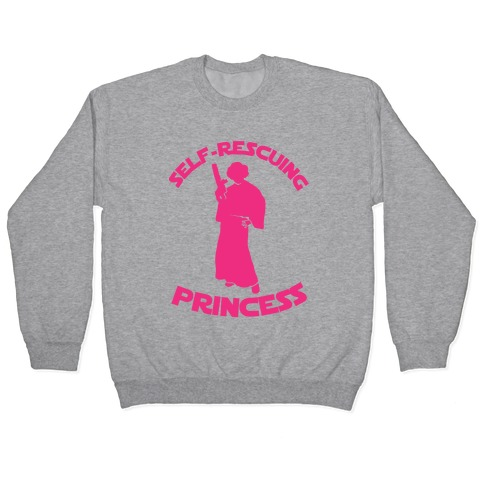 Self-Rescuing Princess Pullover