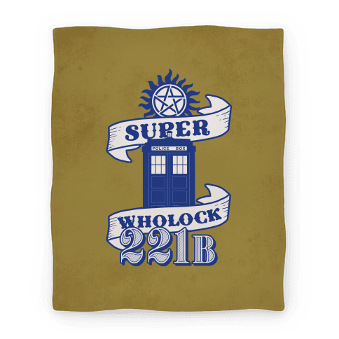 Superwholock Icons(Blanket) Blanket