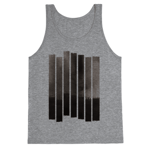 Ghostly Landscape Tank Top