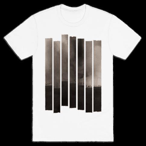 Ghostly Landscape Mens T-Shirt