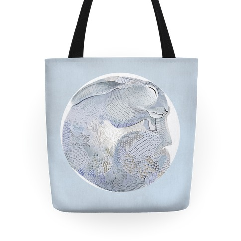 Moon Rabbit Tote