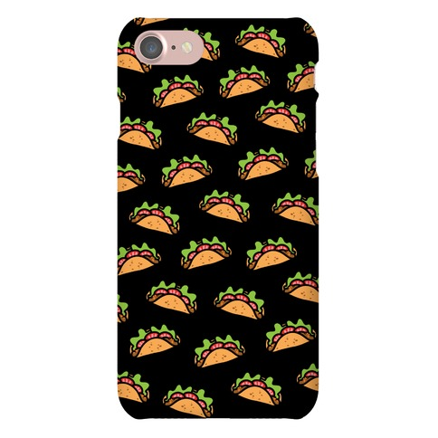 Taco Pattern Phone Case