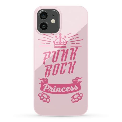 Punk Rock Princess Phone Case