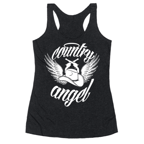 Country Angel Racerback Tank Top