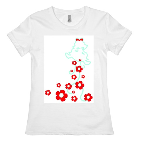 Roses From a Lady Womens T-Shirt
