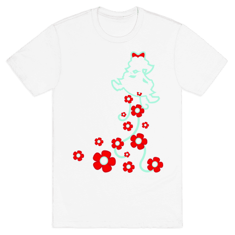 Roses From a Lady Mens T-Shirt