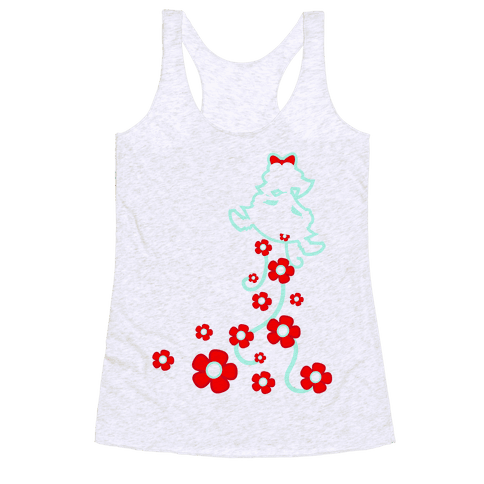 Roses From a Lady Racerback Tank Top