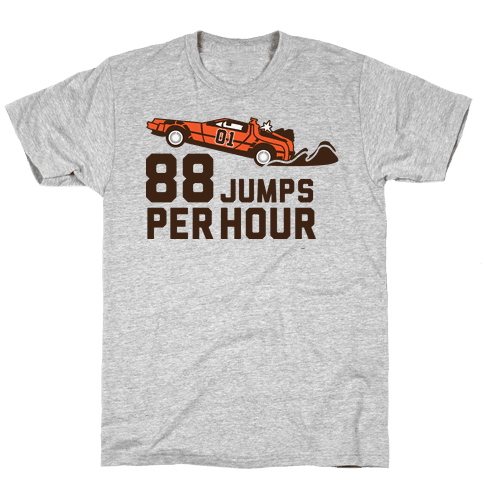 88 Jumps Per Hour  Mens T-Shirt