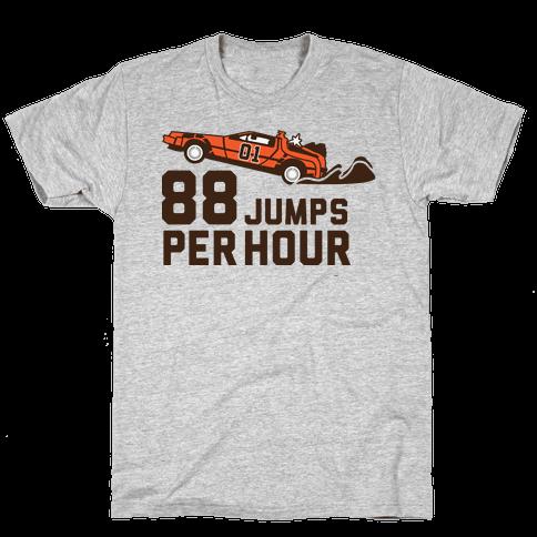 88 Jumps Per Hour  Mens T-Shirt