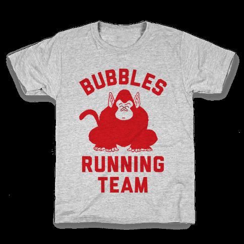 Bubbles Running Team Kids T-Shirt