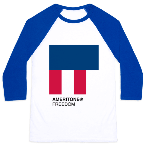 The Color of Freedom Baseball Tee