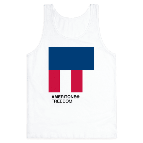 The Color of Freedom Tank Top