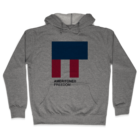 The Color of Freedom Hooded Sweatshirt