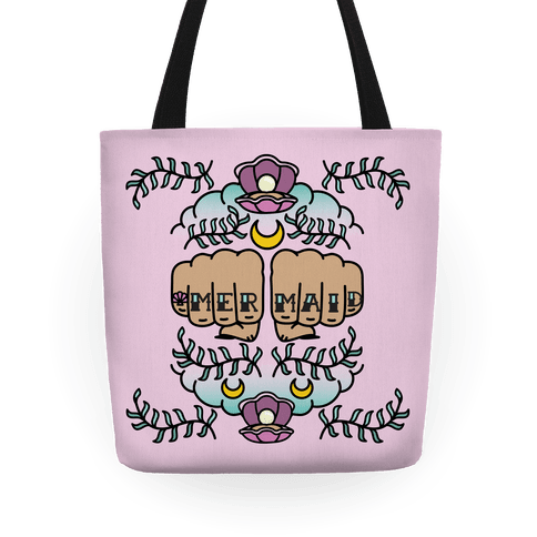 Mermaid Knuckles Tote