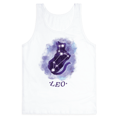 Cat Zodiac: Leo Tank Top