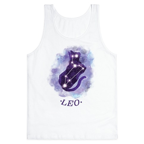 Cat Zodiac: Leo Tank Top