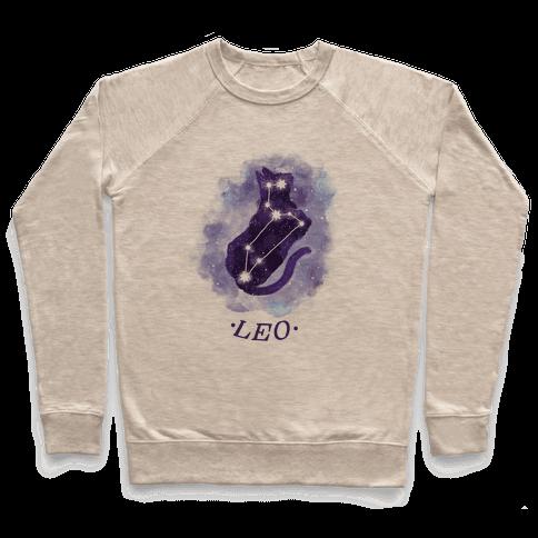 Cat Zodiac: Leo Pullover