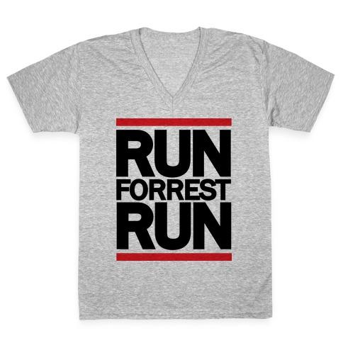 Run Forrest Run V-Neck Tee Shirt