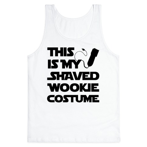 Shaved Wookie Costume Tank Top