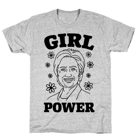 Girl Power Hillary Mens T-Shirt