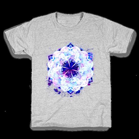 Unicorn Space Ring Kids T-Shirt