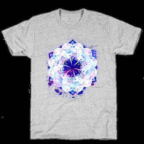 Unicorn Space Ring Mens T-Shirt
