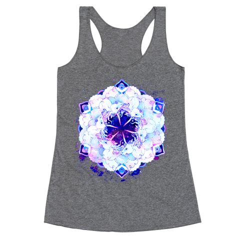 Unicorn Space Ring Racerback Tank Top