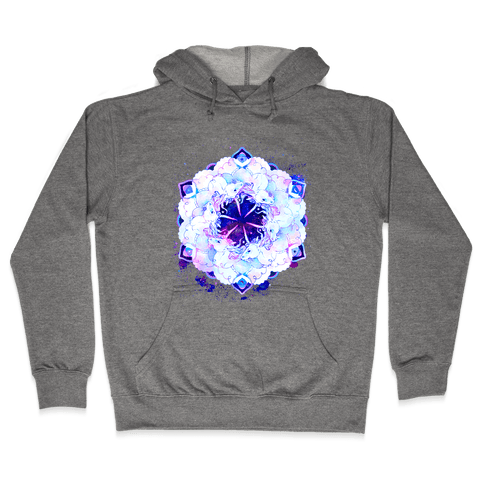 Unicorn Space Ring Hooded Sweatshirt