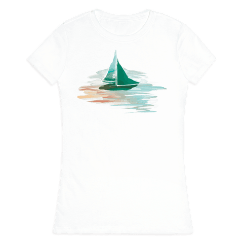 Sail The Seas Womens T-Shirt