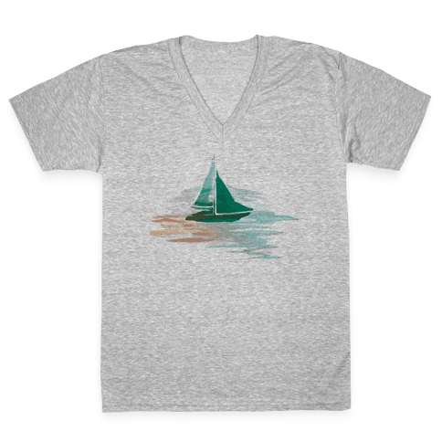 Sail The Seas V-Neck Tee Shirt