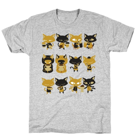 Coffee Cats T-Shirt