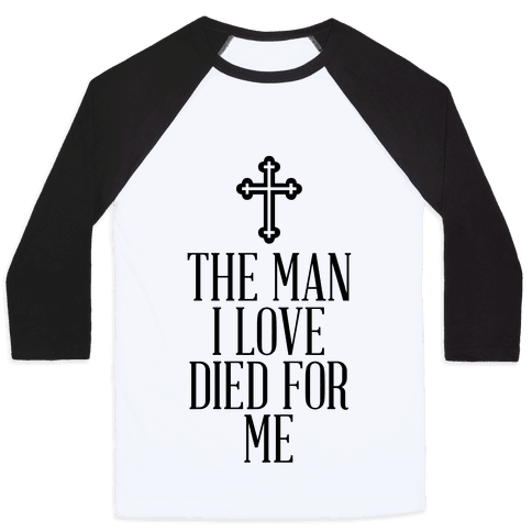 The Man I Love Baseball Tee
