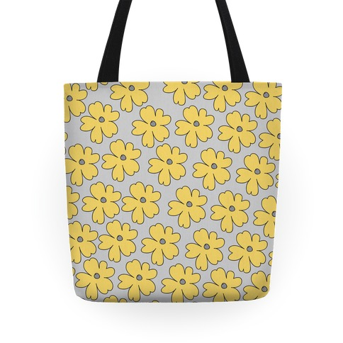 Yellow Flower Tote Tote