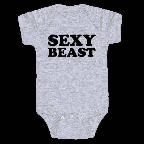 Sexy Beast Baby Onesy