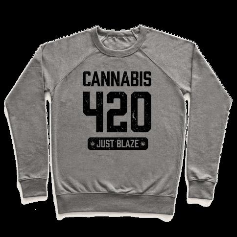 Cannabis 420 Varsity Pullover