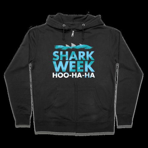 Shark Week Zip Hoodie