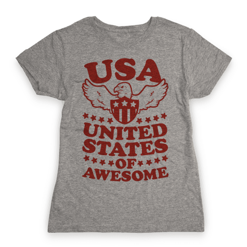 United States of Awesome Womens T-Shirt